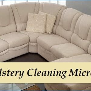 Upholstery Cleaning Microfiber Sectional