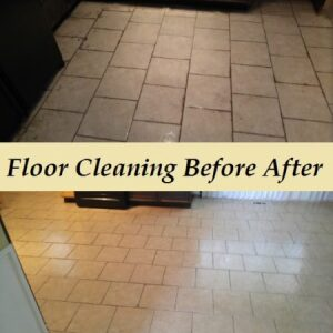 Floor cleaning Service calls for deep scrub and treating the grout to clean it correctly