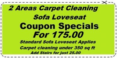 Carpet and Upholstery Cleaning combos