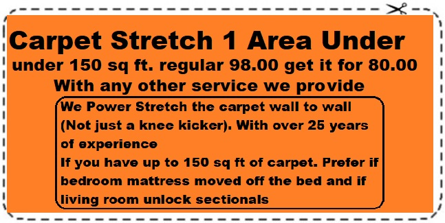 Carpet Stretching one area