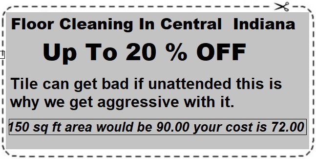 Floor Cleaning Coupon