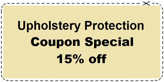 15% off Upholstery Protection